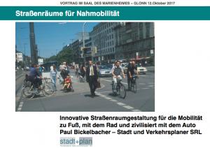 Paul Bickelbacher –Vortrag im Marienheim am 12. Oktober 2017